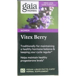 Gaia Herbs Vitex Berry 60 Liquid Phyto Caps