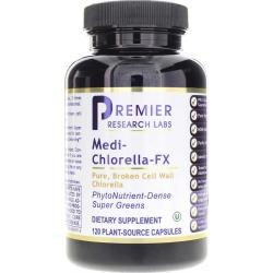 Premier Research Labs Medi Chlorella-FX Pure Organic Chlorella 90 Veg Capsules