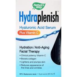 Natures Way Hydraplenish Hyaluronic Acid Serum 1 Oz