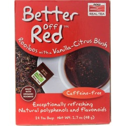 NOW Foods Better Off Red Rooibos Tea 24 Bags