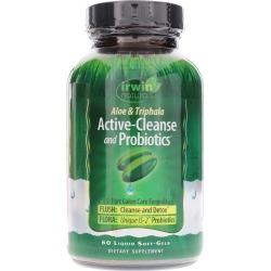 Irwin Naturals Active Cleanse and Probiotics 60 Liquid Softgels