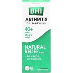 BHI Arthritis Pain Relief Tablets 100 Tablets