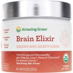 Amazing Grass Brain Elixir 4.2 Oz found on Bargain Bro Philippines from natural healthy concepts for $21.99