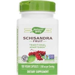 Natures Way Schisandra Fruit 100 Veg Capsules