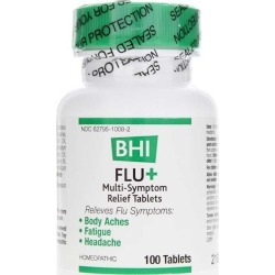 BHI Flu+ Tablets 100 Tablets