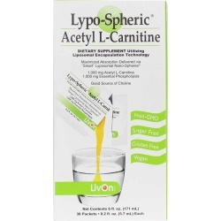 LivOn Laboratories Lypo-Spheric Acetyl L-Carnitine 30 Packets