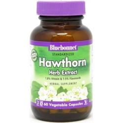Bluebonnet Hawthorn Herb Extract 60 Veg Capsules