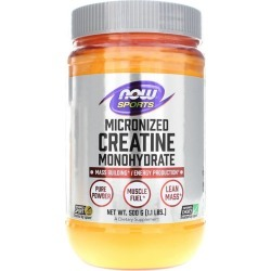 NOW Foods Creatine Monohydrate Micronized Pure Powder 1.1 Lbs
