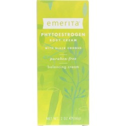 Emerita Phytoestrogen Body Cream with Black Cohosh 2 Oz