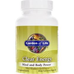 Garden of Life Clear Energy 60 Veg Capsules