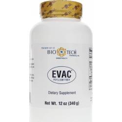 Bio-Tech Pharmacal Evac Psyllium Fiber Powder 12 Oz