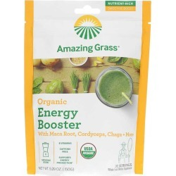 Amazing Grass Organic Energy Booster 5.29 Oz found on Bargain Bro Philippines from natural healthy concepts for $13.31