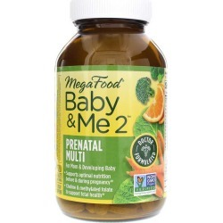 Megafood Baby & Me 2 120 Tablets found on Bargain Bro Philippines from natural healthy concepts for $56.33
