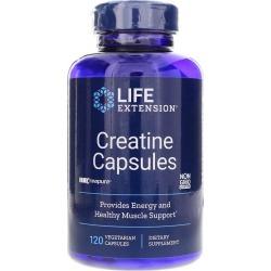 Life Extension Creatine Capsules 120 Veg Capsules