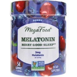 Megafood Melatonin Berry Good Sleep Gummies 90 Gummies found on Bargain Bro Philippines from natural healthy concepts for $19.70