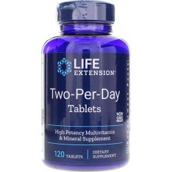 Life Extension Two-Per-Day Tablets 120 Tablets