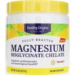 Healthy Origins Magnesium Bisglycinate Chelate Powder 8 Oz