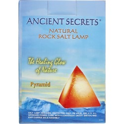 Ancient Secrets Natural Rock Salt Lamp Pyramid 1 Piece(s)