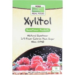 NOW Foods Xylitol Sweetener Packets 75 Pack(s)