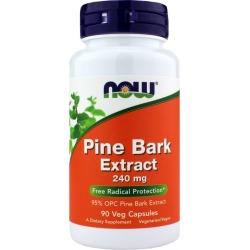 NOW Foods Pine Bark Extract 240 Mg 90 Veg Capsules