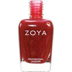 Zoya Nail Polish Red Jade .5 Oz