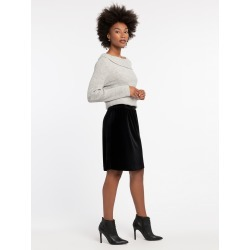 Darling Velvet Skirt, Black Onyx, Small by NIC+ZOE found on MODAPINS from nic+zoe for USD $58.00