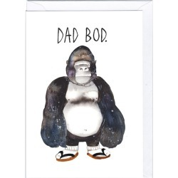 Dad Bod Father's Day Card