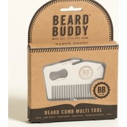 Beard Buddy Comb Multi Tool found on Bargain Bro UK from Oliver Bonas Ltd