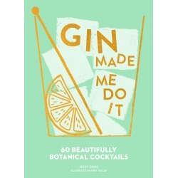 Gin Made Me Do It Book found on Bargain Bro UK from Oliver Bonas Ltd