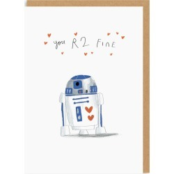 You R2 Fine Valentine's Day Card