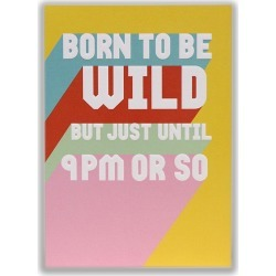 Funny Born to Be Wild Card