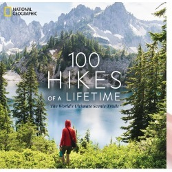 100 Hikes Of A Lifetime Book found on Bargain Bro UK from Oliver Bonas Ltd