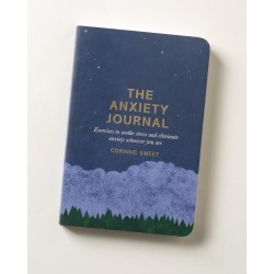 The Anxiety Journal Book found on Bargain Bro UK from Oliver Bonas Ltd