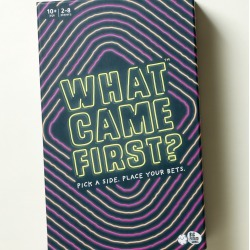 What Came First? Board Game