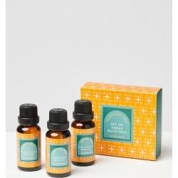 Essential Oils Bath Oil Set of Three found on Bargain Bro UK from Oliver Bonas Ltd