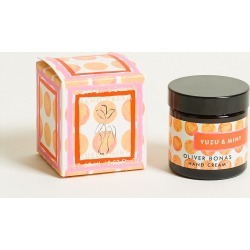 Yuzu & Mint Hand Cream found on Makeup Collection from Oliver Bonas Ltd for GBP 12.47