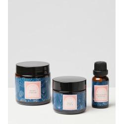 Essential Oils Body Scrub, Cream & Bath Oil Set of Three found on Bargain Bro UK from Oliver Bonas Ltd
