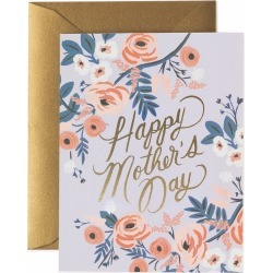 Rosy Happy Mother's Day Card