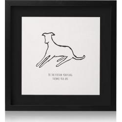 Dog Person Wall Art found on Bargain Bro UK from Oliver Bonas Ltd