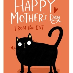 From the Cat Mothers Day Card