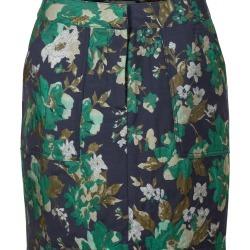 Rome Floral Jacquard Blue Mini Skirt found on Bargain Bro UK from Oliver Bonas Ltd