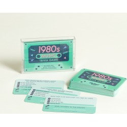 1980s Music Tape Trivia Card Game