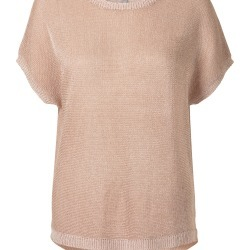 Dreamboat Metallic Knitted Top found on Bargain Bro UK from Oliver Bonas Ltd