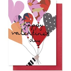 Balloons Valentine's Day Card