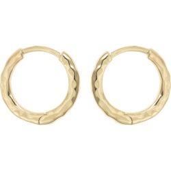 Sami Textured Gold Plated Hoop Earrings found on Bargain Bro UK from Oliver Bonas Ltd