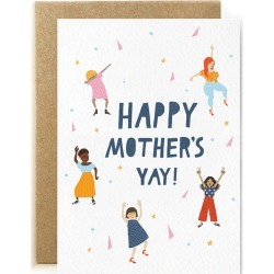 Mothers Yay Mothers Day Card