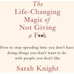 The Life Changing Magic of Not Giving a F*K found on Bargain Bro UK from Oliver Bonas Ltd