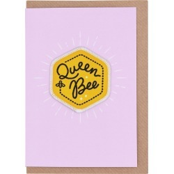 Queen Bee Patch Mother's Day Card