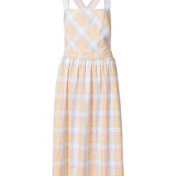 Light Check Cross Back Midi Dress found on Bargain Bro UK from Oliver Bonas Ltd