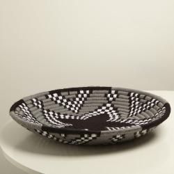 Morocco Straw Grey Basket Bowl Large found on Bargain Bro UK from Oliver Bonas Ltd
